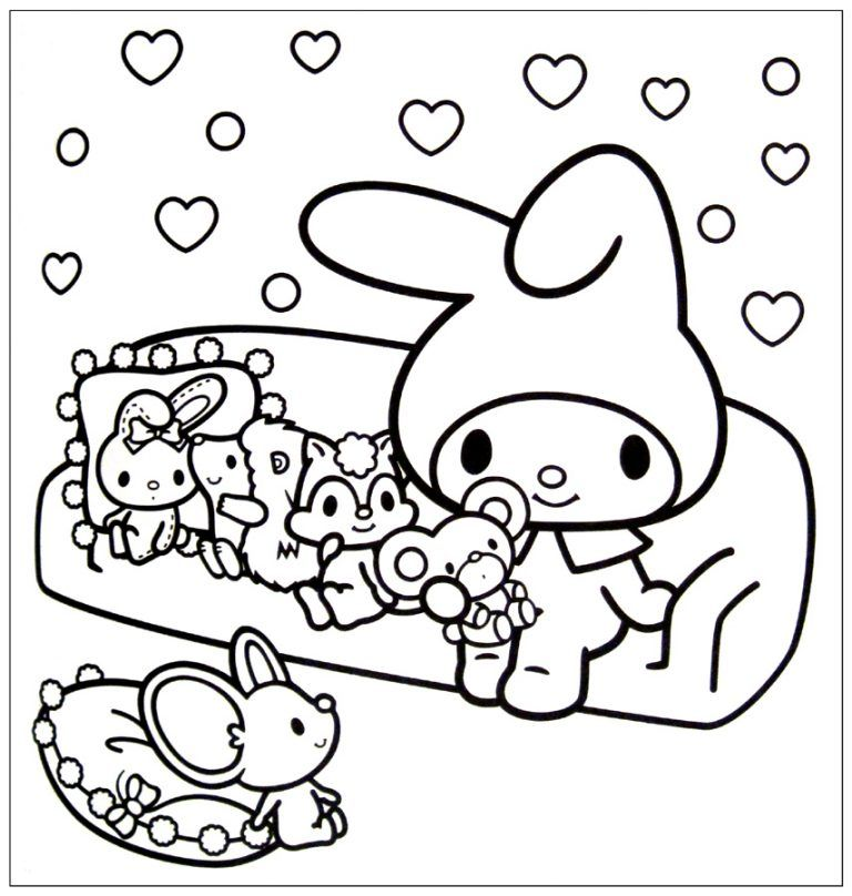 Kawaii Coloring Pages Best Coloring Pages For Kids Hello Kitty Colouring Pages Hello Kitty Coloring Kitty Coloring