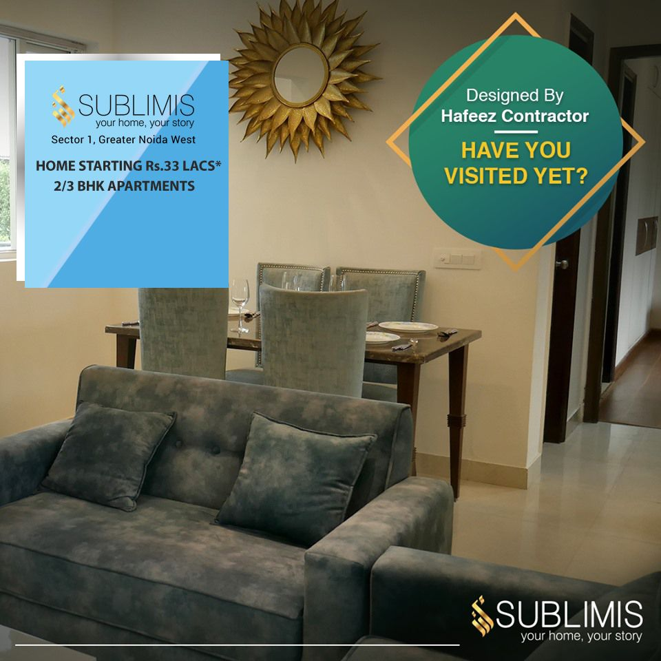 Crc Sublimis Sector 1 Greater Noida West 2 3 Bhk