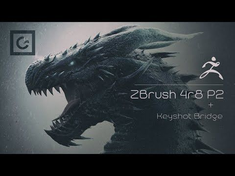 Download and Install ZBrush 4R8 P2 + Keyshot Bridge (E P O