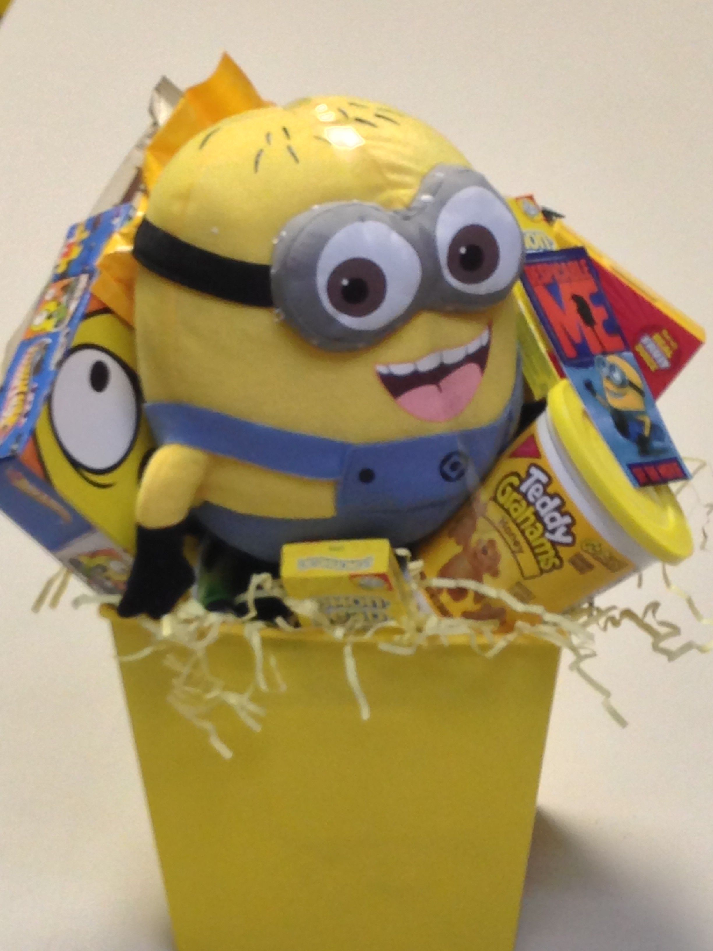 Despicable Me gift basket