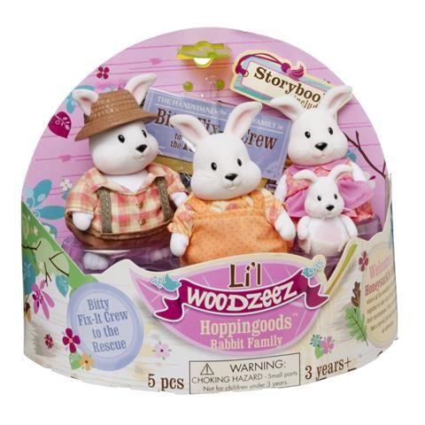 Li L Woodzeez Hoppingood S Rabbit Family Kmart Rabbit Lil Small Pets