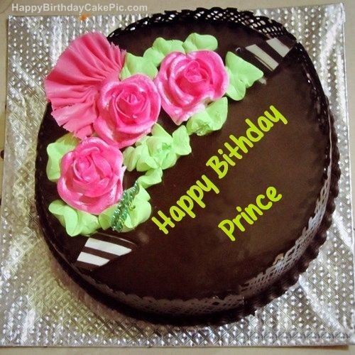 chocolatehappybirthdaycakeforPrincejpg 500500 The Prince