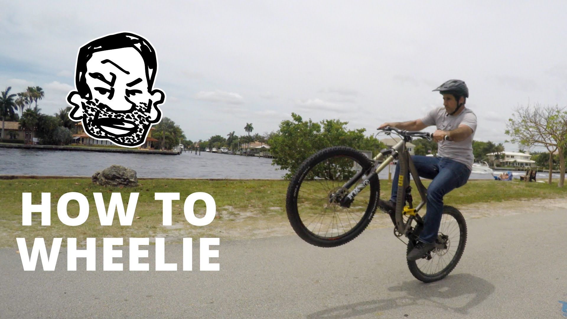 How To Wheelie A Mountain Bike Freeride Mountain Bike Mountain