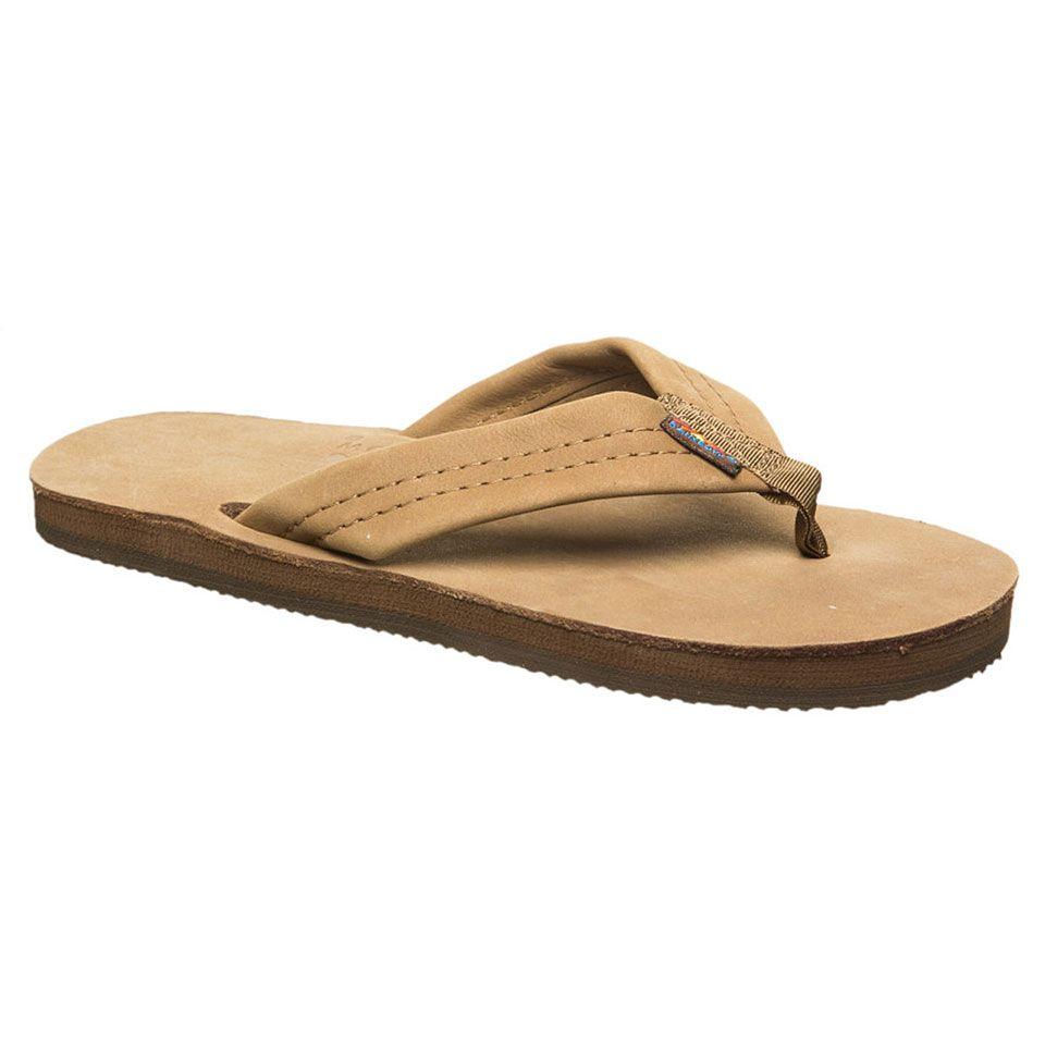 98747ce0e6f3 Rainbow Sandals Double Layer Premier Leather Sandals