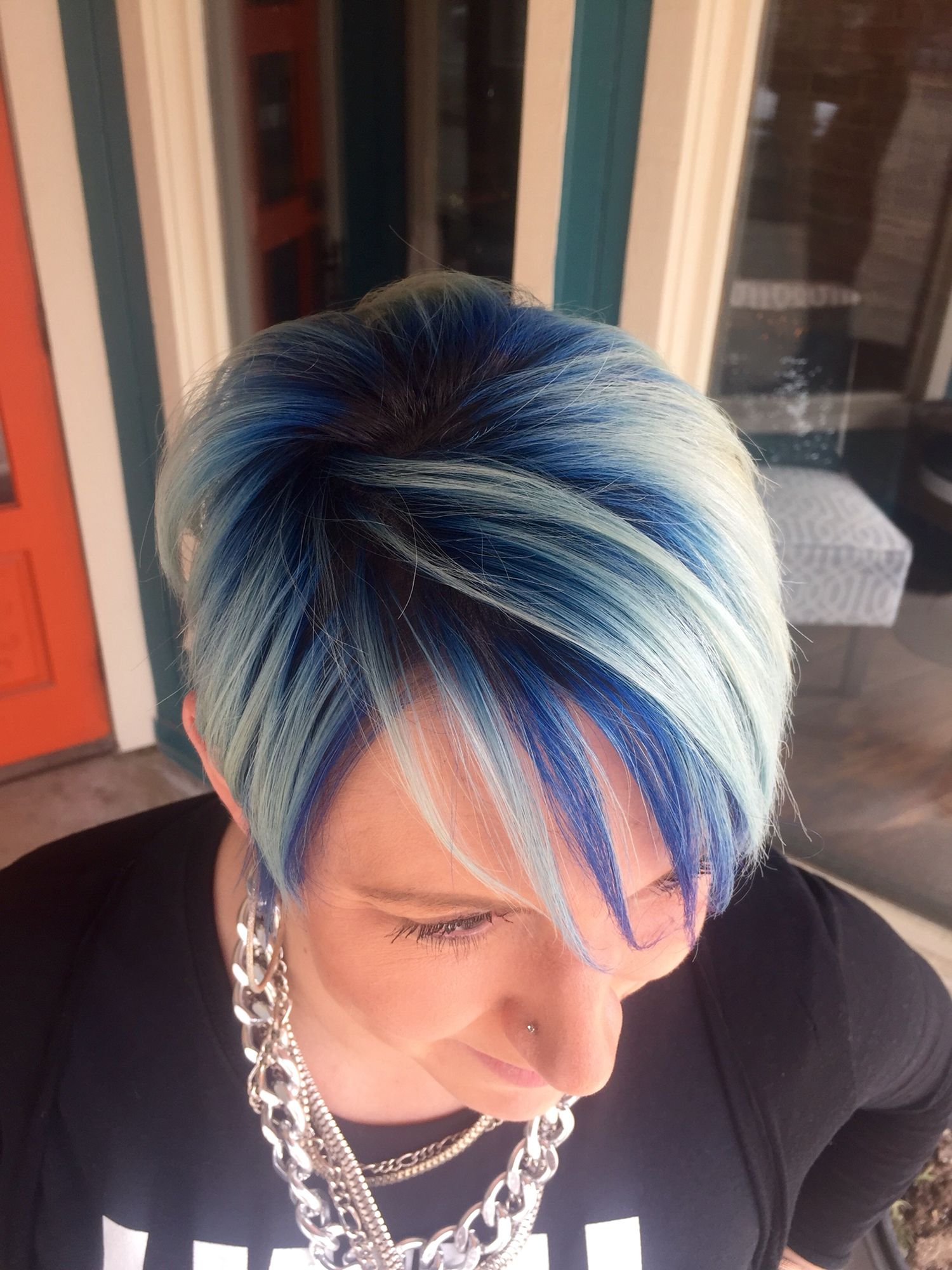 Hair Color Summer 2015 Hair Short Hair Blue Hair White Hair