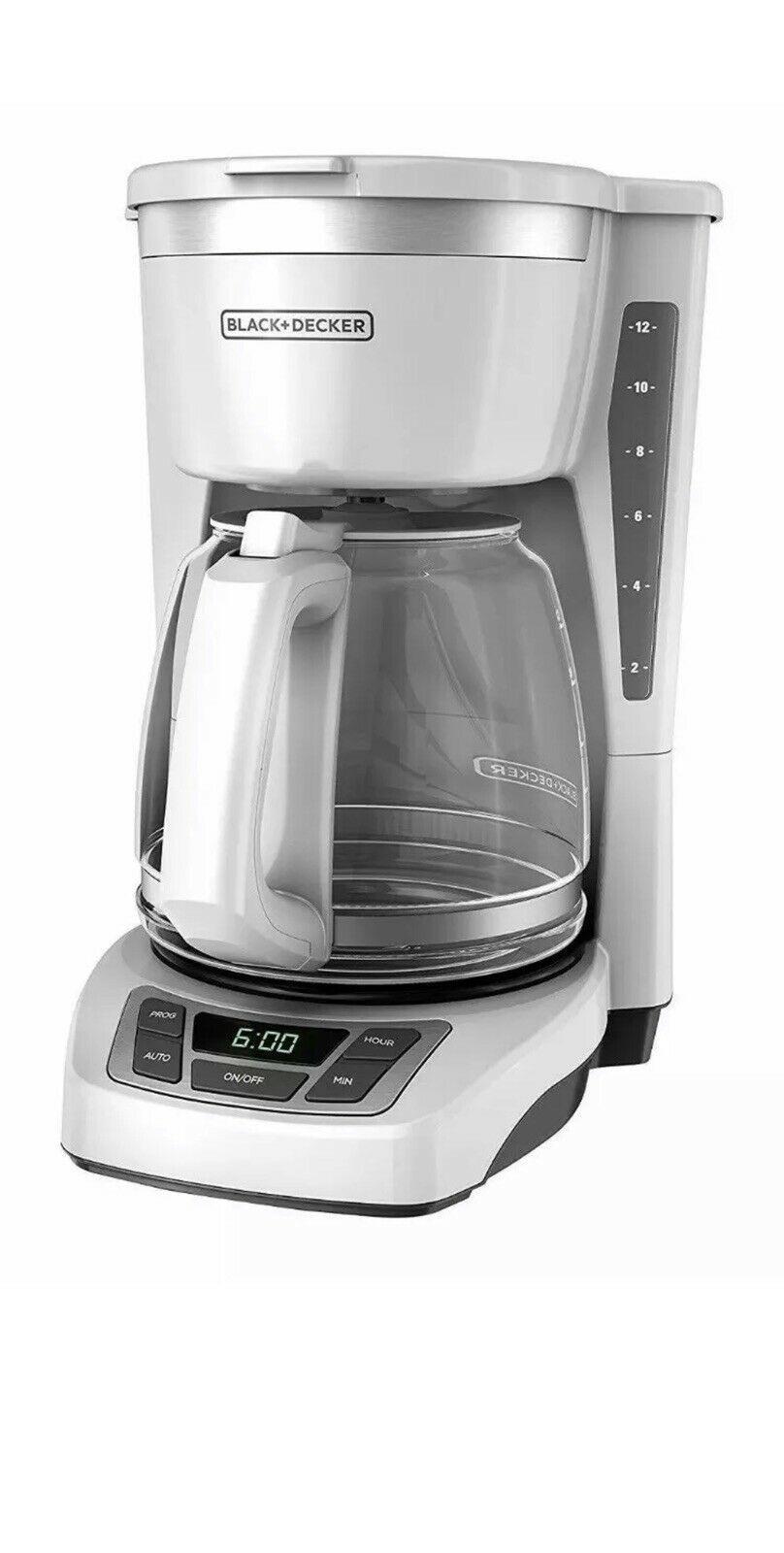 Blackdecker 12cup quicktouch programmable coffeemaker