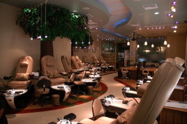best nail salon interior design nestled amongst the hills of los angeles
