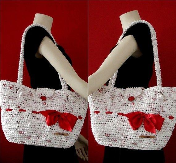 Plarn bag! LOVE this!!!