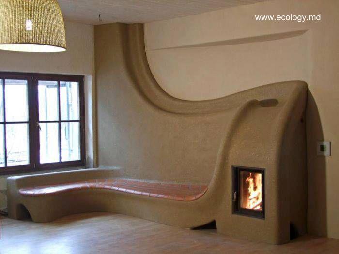 Una casa de adobe vista por dentro arquitectura de casas for Casas pintadas por dentro