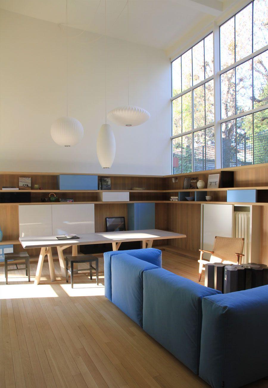 maison atelier miestchaninoff boulogne billancourt lelad home design furniture pinterest. Black Bedroom Furniture Sets. Home Design Ideas