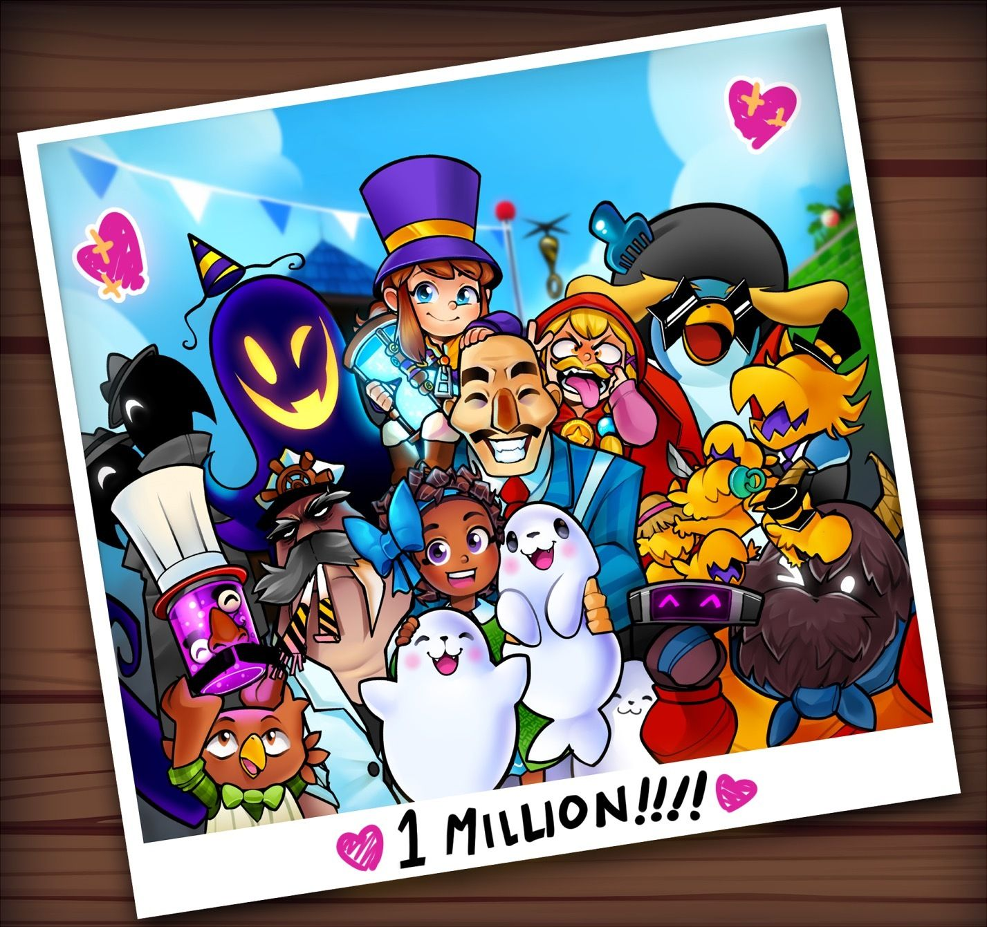 A Hat In Time 1 Million Copies Sold Hat In Time A Hat In Time Game A Hat In Time