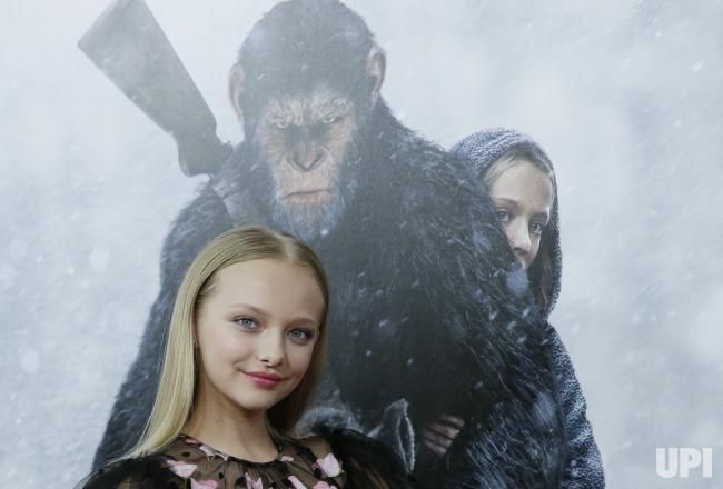 Amiah Miller Arrives On The Red Carpet At War For The Planet Of The Apes Premiere At Sva Theater On July 10 2017 In New Yor Planet Of The Apes Premiere Apes