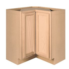 Project Source 36 Unfinished Lazy Susan Base Cabinet Stock Cabinets Corner Base Cabinet Base Cabinets