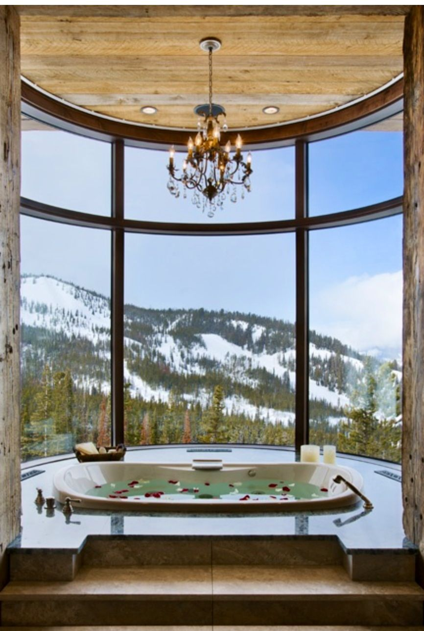 View from our future bathtub at our house in Alaska | Future Home ...