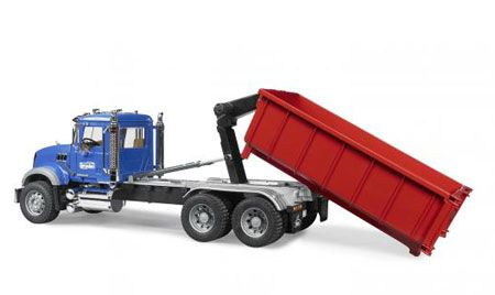 Amazon.com: Bruder Toys Mack Granite Cargo Truck With Forklift   toy's    Pinterest
