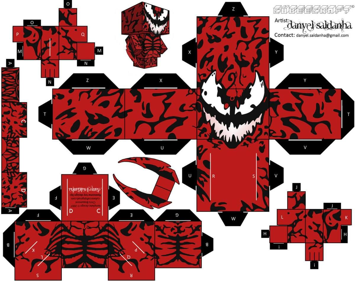 Marvel En Cubeecraft - Taringa! | Origami | Sobres de ... - photo#6
