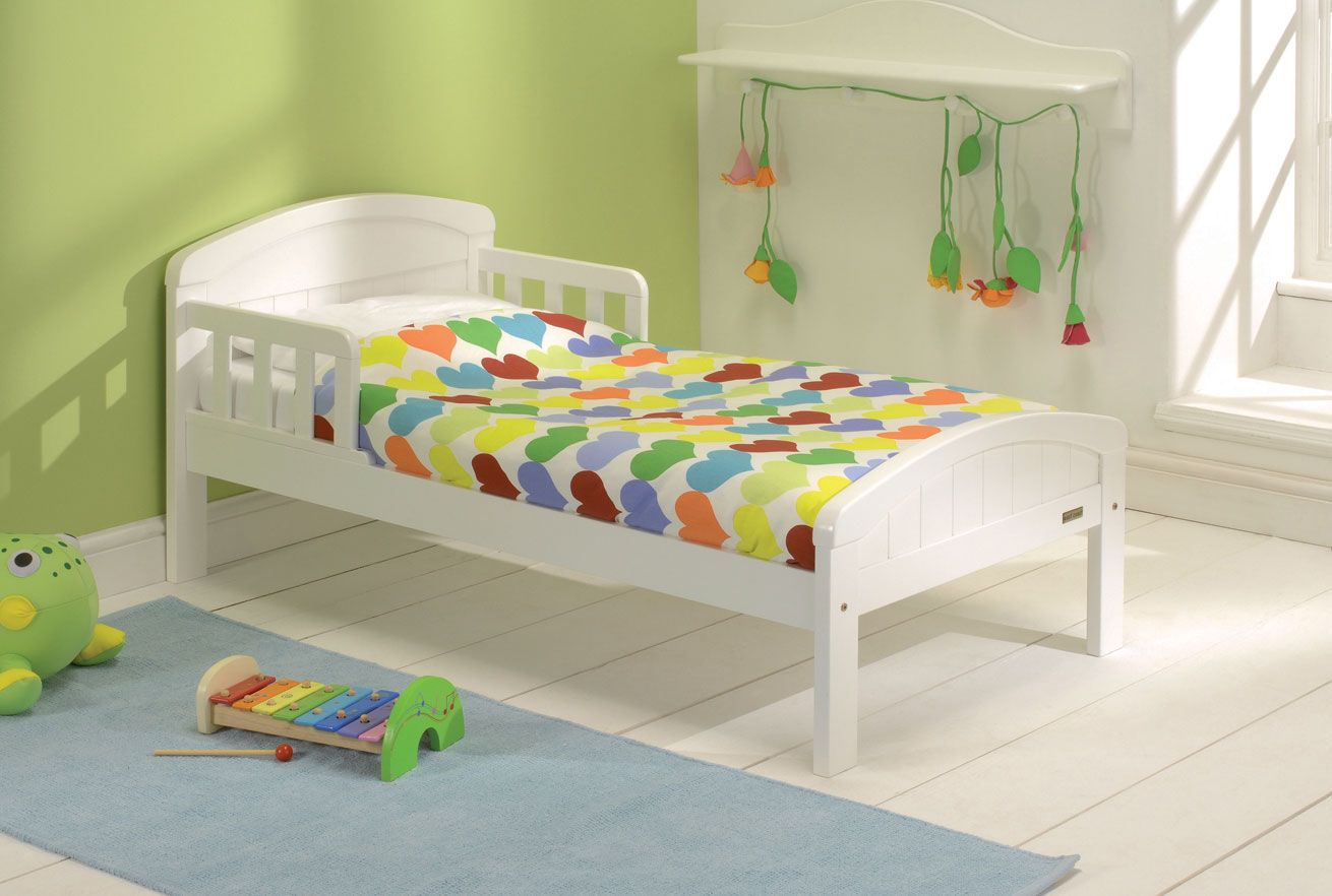 Baby Weavers Country Toddler Bed White Kids Bed Toddler Bed