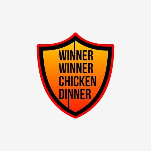 Shield Winner Winner Chicken Dinner Square Red Pubg 3d Pubg Png And Vector With Transparent Backgrou Winner Winner Chicken Dinner Chicken Dinner Chicken Vector