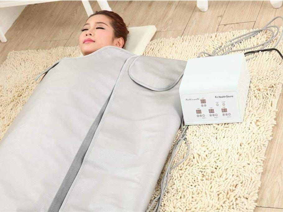 I bought an infrared sauna blanket on amazon and ive