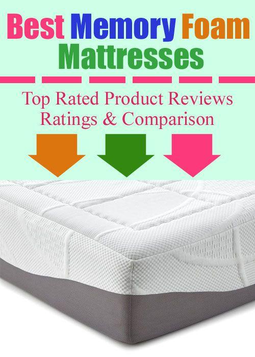 10 Best Memory Foam Mattresses Reviews Foam Mattress Mattress