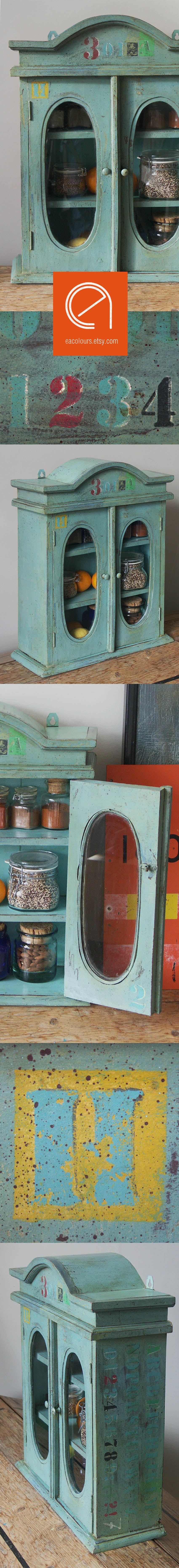 Vintage antique apothecary drug cabinet. Herb spices rack storage ...
