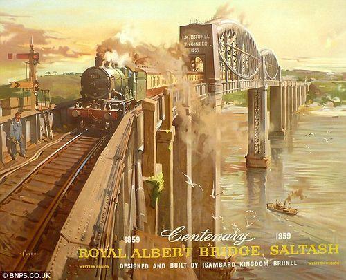 Old Railway Posters 02 by DrJohnBullas, via Flickr