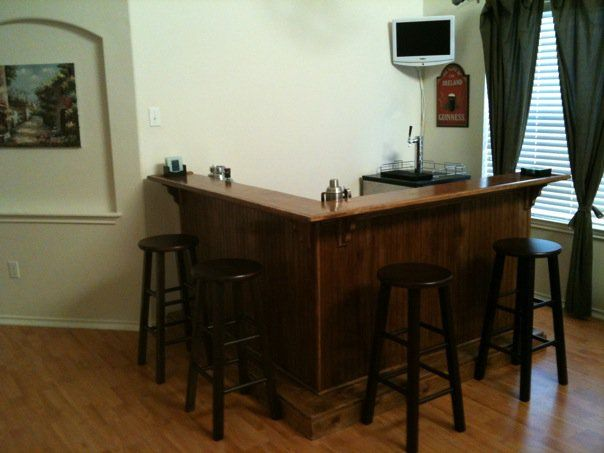 making a homemade bar creative pinterest homemade bar and basements. Black Bedroom Furniture Sets. Home Design Ideas