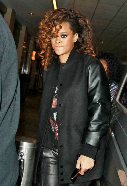 Givenchy long bomber wool jacket | Dreams | Pinterest | Her hair ...