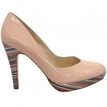 promo code 6978f 689e6 Peter Kaiser Lukrezia sand patent stilettos - modern ...