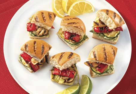 ALDI US - Grilled Vegetable Sliders
