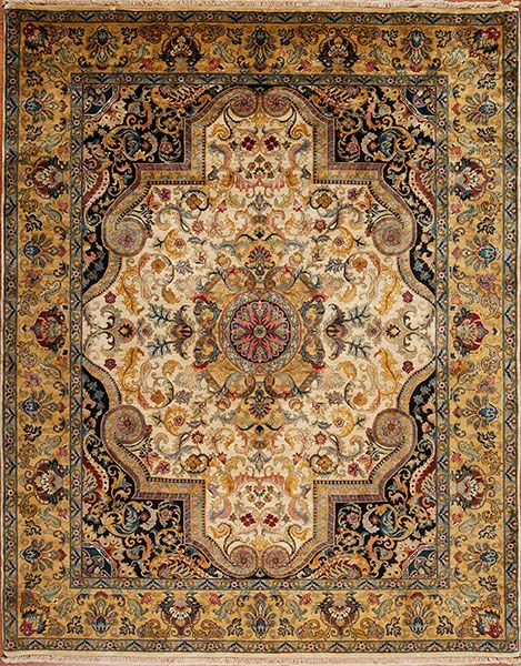 Golden Age Jewel Samad Hand Made Carpets