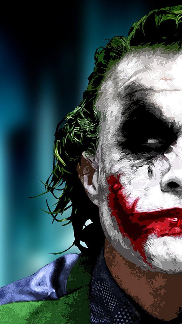 Heath Ledger As The Joker Wallpaper
