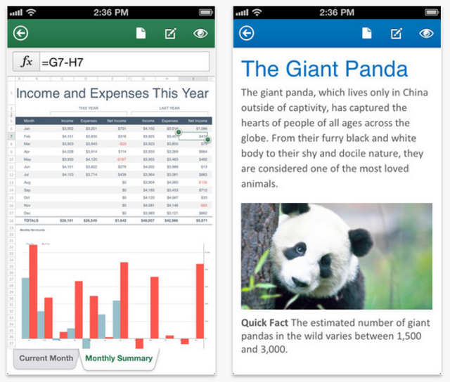 Microsoft Debuts Office Mobile iPhone App, Office 365