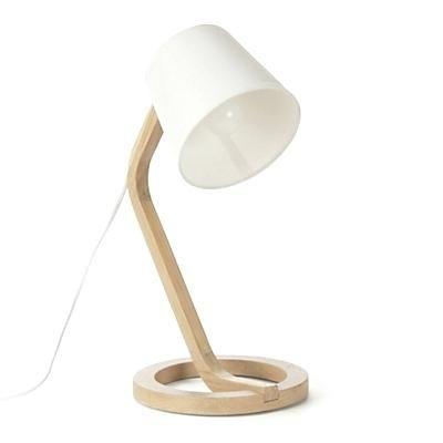lampes chevet design lampe a poser scandinave en chane et coton