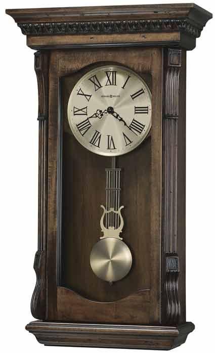 Howard Miller Agatha 625 578 Chiming Wall Clock Antique Wall Clocks Rustic Wall Clocks Pendulum Wall Clock