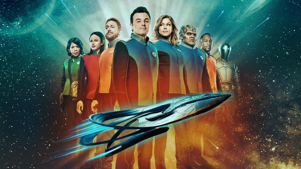 The Orville Tv Series 4k Cast Wallpaper Star Trek Show Tv