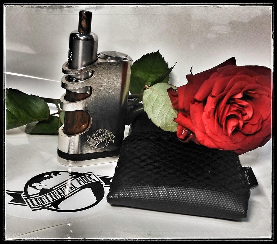 Black Silok pouch V1.5  + Continental mods.