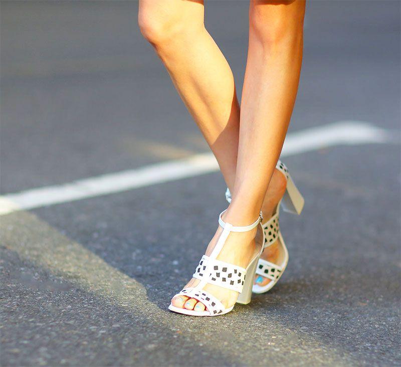 Comfy chic block heels | KELLY GOLIGHTLY