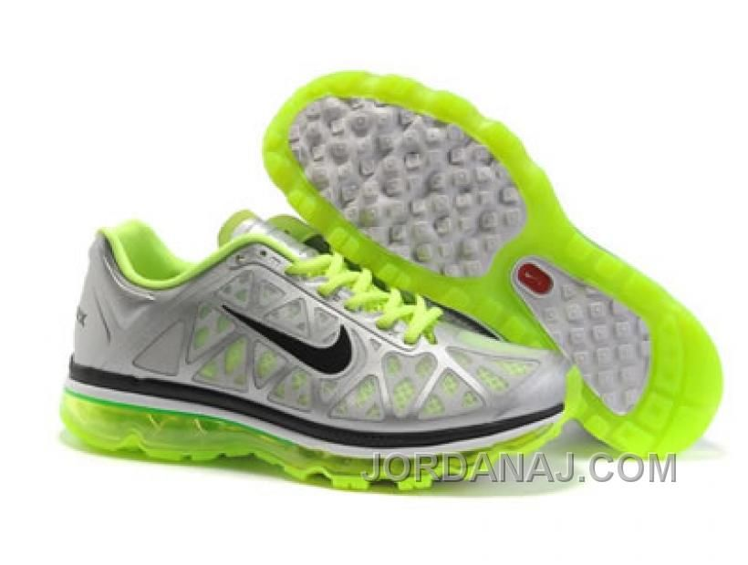 Free Shipping 6070 OFF 429889 027 Nike Air Max 2011 White Grey Green AMFM0580