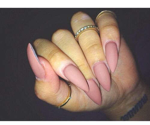 Matte Nails Always Look More Cly