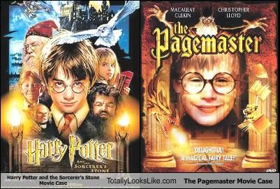 Totally Looks Like Harry Potter Harry Potter The Pagemaster The Sorcerer S Stone Sorcerer