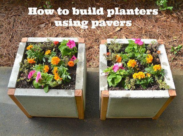 Mod Podge Rocks Bloglovin Diy Concrete Planters Diy Planters Diy Cement Planters