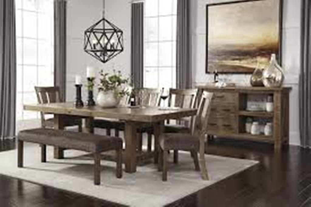 Attractive No Ashley Furniture Dining Room Sets Review Could Fail To Comment On The  Quality And Style Of Major American Furniture Brands.