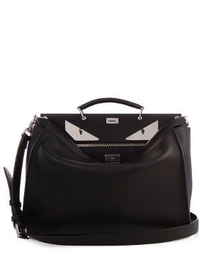 Selleria Bag Bugs Peekaboo leather weekend bag | Fendi | MATCHESFASHION.COM US