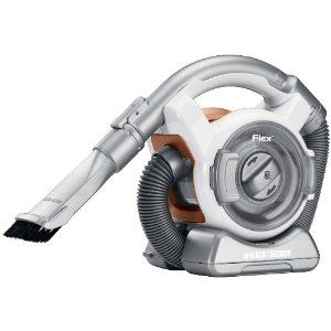 black and decker cordless vac.  gets into all the tiny places.
