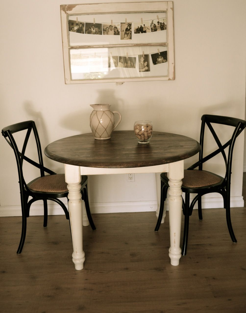 Sensational Round Dining Table Farmhouse Style Distressed Antique Download Free Architecture Designs Scobabritishbridgeorg