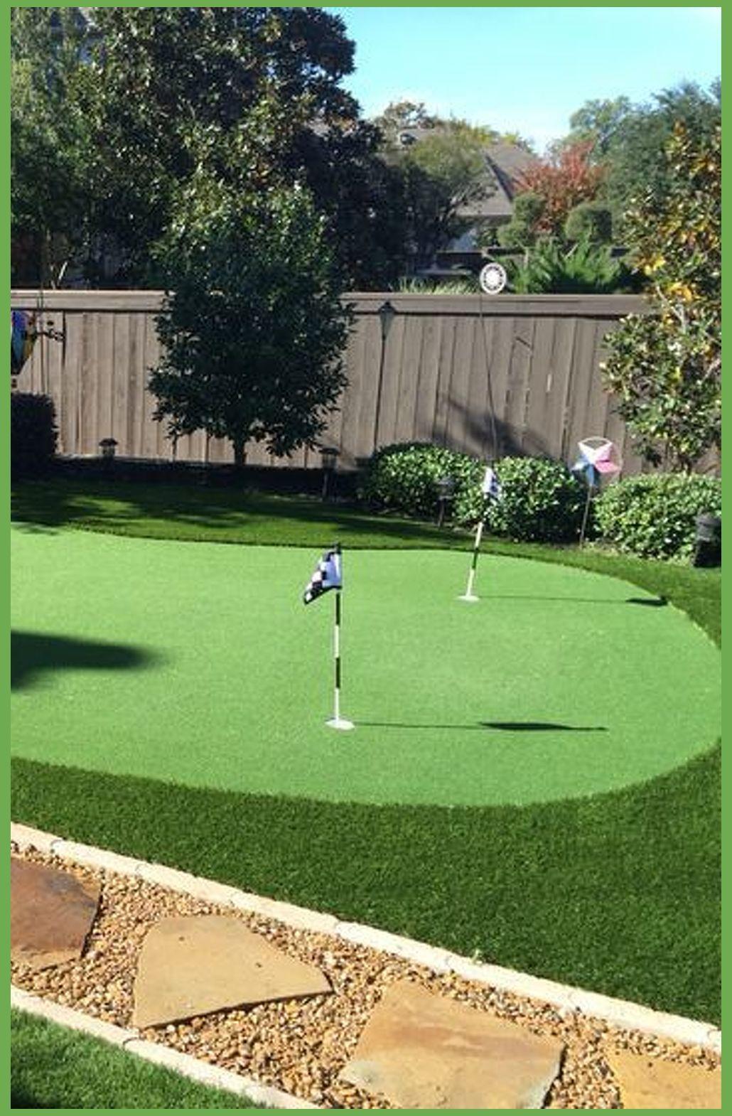 Small backyard putting green. No maintenance, lots of fun ... on Small Backyard Putting Green id=73045