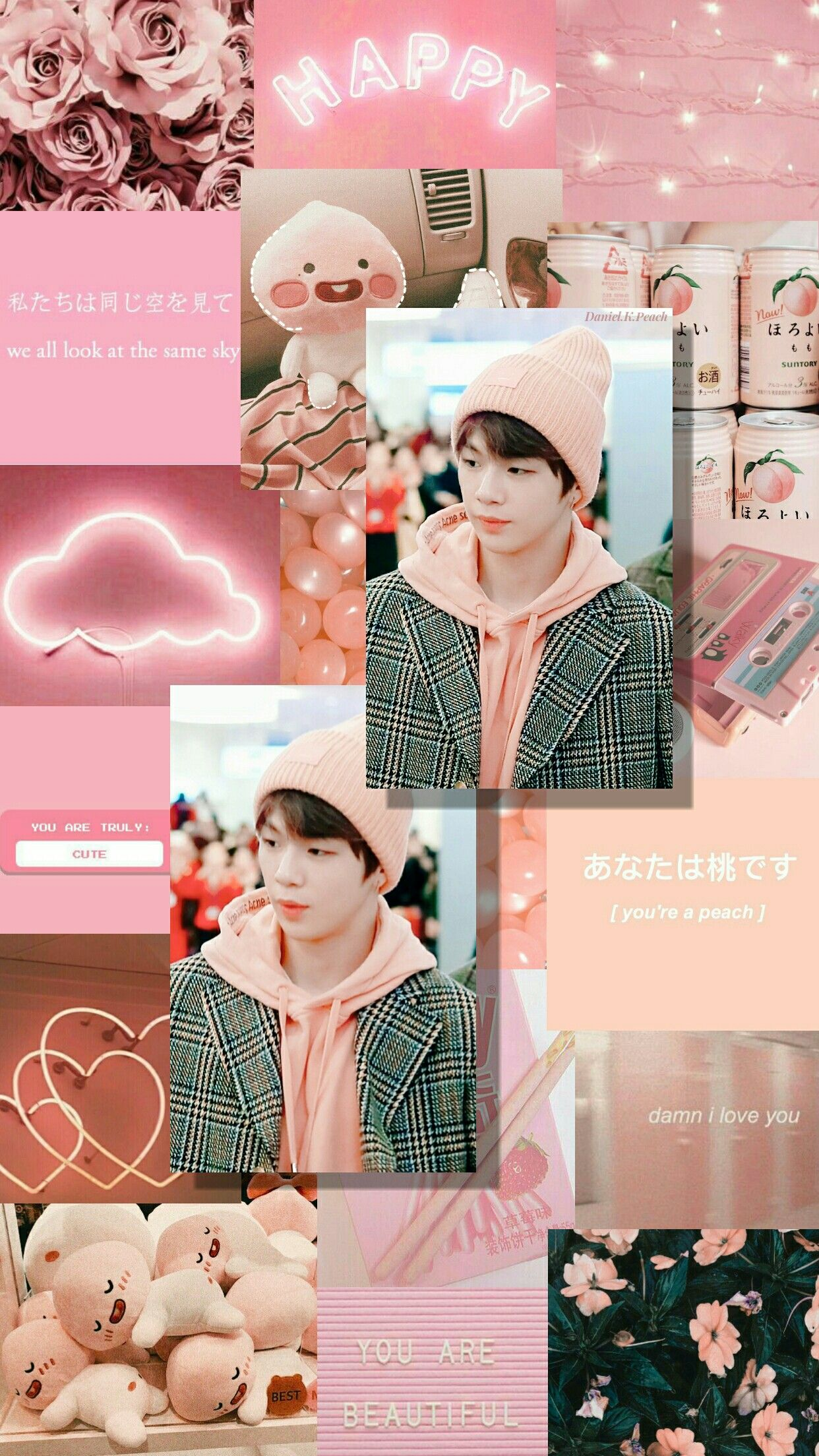 Pink and Peach Dream with Kang Daniel #kangdaniel