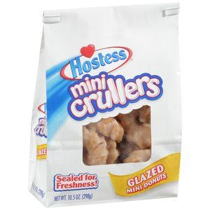 Hostess Crullers Glazed Mini Donuts Never Did Have Any Of These