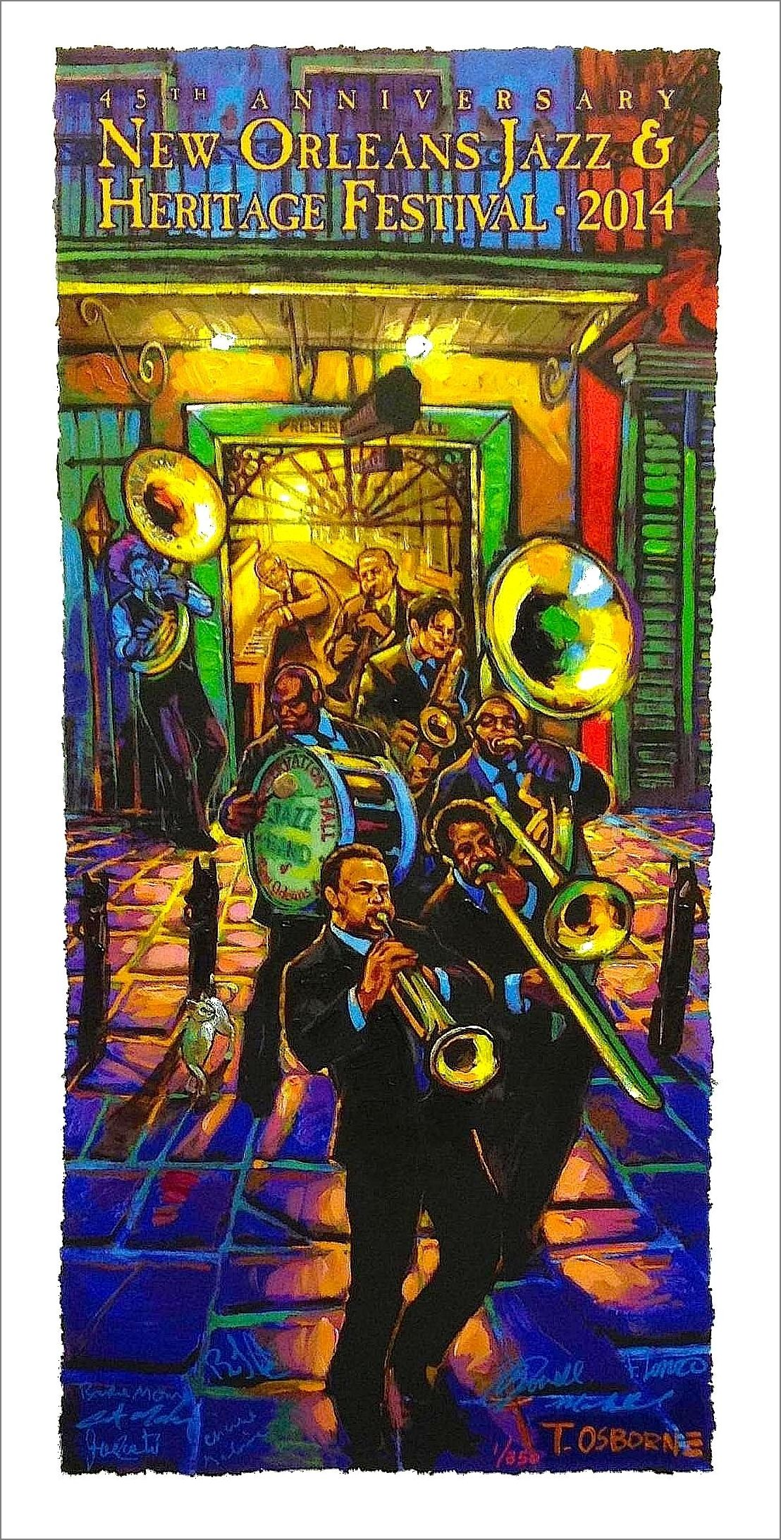 www.art4now.com - in 2014 Jazz Fest Poster | Louisiana ...